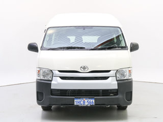 2014 Toyota HiAce KDH223R MY12 Upgrade Commuter White Bus.