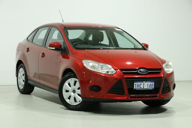 Used Ford Focus LW MK2 MY14 Ambiente, 2014 Ford Focus LW MK2 MY14 Ambiente Red 6 Speed Automatic Sedan