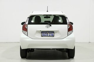 2016 Toyota Prius c NHP10R MY15 Hybrid White Continuous Variable Hatchback