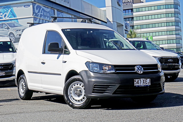 Used Volkswagen Caddy 2KN MY17.5 TSI160 SWB Runner, 2017 Volkswagen Caddy 2KN MY17.5 TSI160 SWB Runner White 5 Speed Manual Van