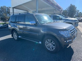 2019 Mitsubishi Pajero NX MY20 GLS Graphite 5 Speed Sports Automatic Wagon