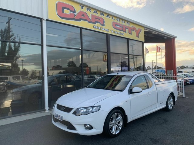 Used Ford Falcon FG XR6 (LPG), 2009 Ford Falcon FG XR6 (LPG) White 4 Speed Auto Seq Sportshift Utility
