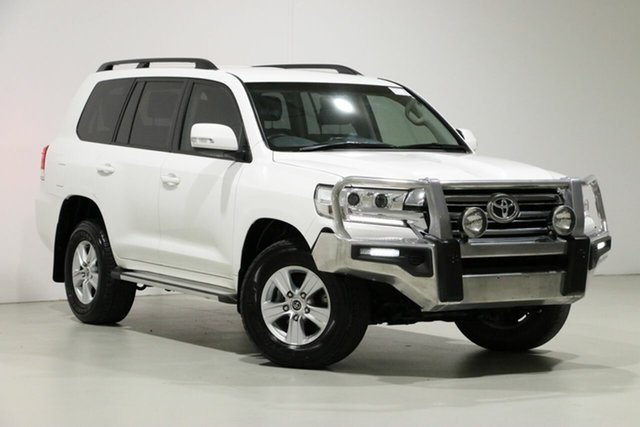 Used Toyota Landcruiser VDJ200R MY16 GXL (4x4), 2017 Toyota Landcruiser VDJ200R MY16 GXL (4x4) White 6 Speed Automatic Wagon