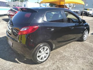 2011 Mazda 2 DE10Y2 MY12 Neo Black 4 Speed Automatic Hatchback