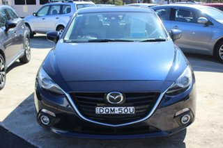 2013 Mazda 3 BM5238 SP25 SKYACTIV-Drive Blue 6 Speed Sports Automatic Sedan.
