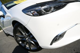 2016 Mazda 6 GJ1032 GT SKYACTIV-Drive Snowflake White Pearl 6 Speed Sports Automatic Sedan.