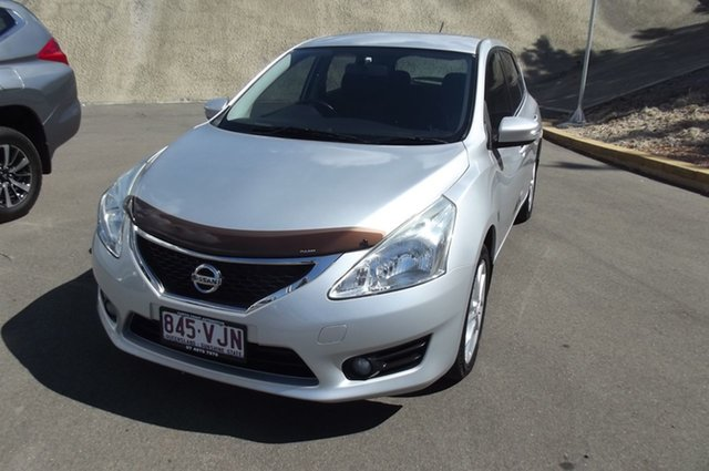 Used Nissan Pulsar C12 ST-S, 2013 Nissan Pulsar C12 ST-S Silver 1 Speed Constant Variable Hatchback