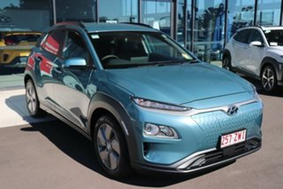 2020 Hyundai Kona OSEV.2 MY20 electric Elite Ceramic Blue 1 Speed Reduction Gear Wagon.