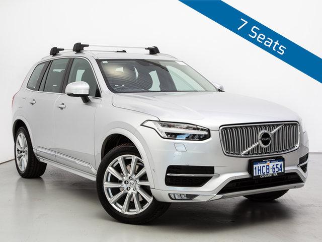 Used Volvo XC90 256 MY16 T6 2.0 Inscription, 2016 Volvo XC90 256 MY16 T6 2.0 Inscription Silver 8 Speed Automatic Wagon