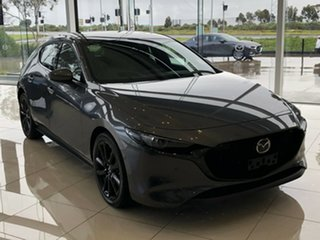 2020 Mazda 3 BP2HHA X20 SKYACTIV-Drive Astina Machine Grey 6 Speed Sports Automatic Hatchback.