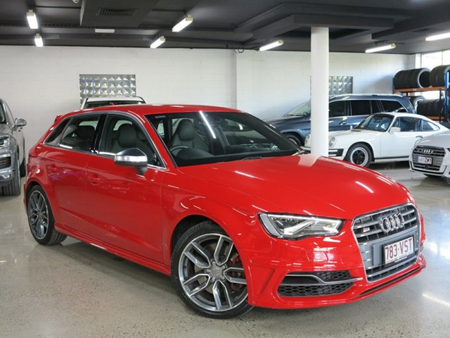 Used Audi S3 8V MY15 Sportback S Tronic Quattro, 2015 Audi S3 8V MY15 Sportback S Tronic Quattro Misano Red 6 Speed Sports Automatic Dual Clutch