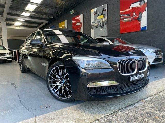 Used BMW 740i F01 , 2010 BMW 740i F01 740i Black Sports Automatic Sedan