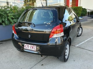 2009 Toyota Yaris YR Black 4 Speed Automatic Hatchback