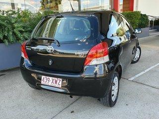 2009 Toyota Yaris YR Black 4 Speed Automatic Hatchback