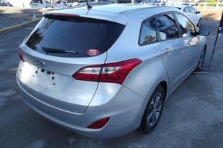 2015 Hyundai i30 GD Active Tourer Silver 6 Speed Sports Automatic Wagon.