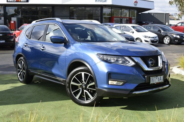 Used Nissan X-Trail T32 Series II Ti X-tronic 4WD, 2017 Nissan X-Trail T32 Series II Ti X-tronic 4WD Blue 7 Speed Constant Variable Wagon