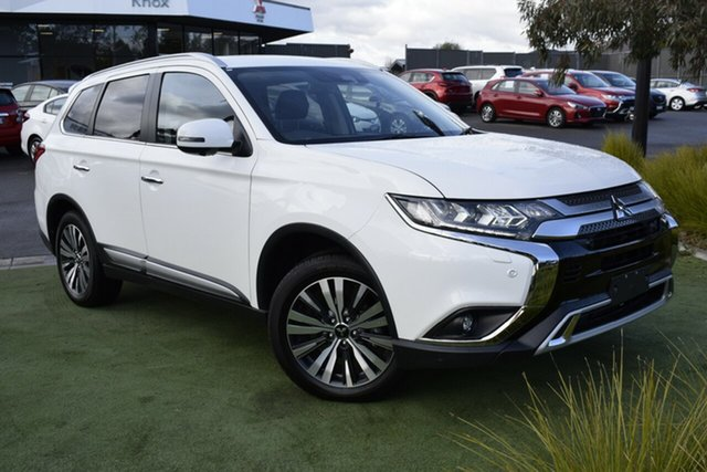 Used Mitsubishi Outlander ZL MY19 Exceed AWD, 2019 Mitsubishi Outlander ZL MY19 Exceed AWD White 6 Speed Sports Automatic Wagon