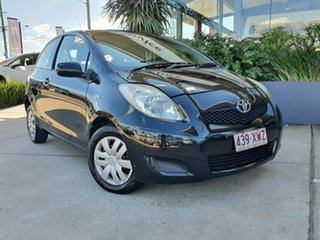 2009 Toyota Yaris YR Black 4 Speed Automatic Hatchback.