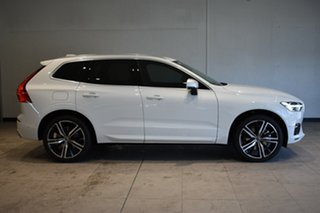 2018 Volvo XC60 UZ MY18 D5 AWD R-Design Ice White 8 Speed Sports Automatic Wagon