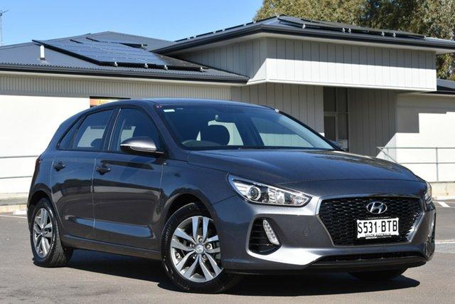 Used Hyundai i30 PD MY18 Active, 2017 Hyundai i30 PD MY18 Active Grey 6 Speed Manual Hatchback