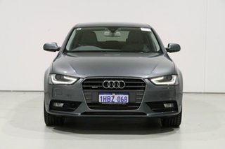 2015 Audi A4 B8 (8K) MY15 2.0 TDI Ambition Quattro Grey 7 Speed Auto Direct Shift Sedan.