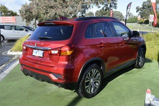 2019 Mitsubishi ASX XC MY19 LS 2WD Red/Black 6 Speed Constant Variable Wagon