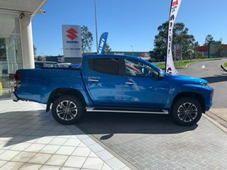 2019 Mitsubishi Triton MR MY20 GLS Double Cab Impulse Blue 6 Speed Sports Automatic Utility.