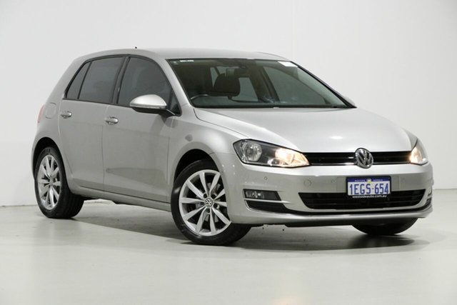 Used Volkswagen Golf AU MY14 103 TSI Highline, 2013 Volkswagen Golf AU MY14 103 TSI Highline Silver 7 Speed Auto Direct Shift Hatchback