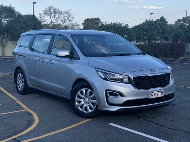 Used Kia Carnival YP MY19 S, 2018 Kia Carnival YP MY19 S Silver 8 Speed Sports Automatic Wagon