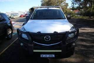2016 Mazda BT-50 UR0YG1 XT White 6 Speed Sports Automatic Cab Chassis.