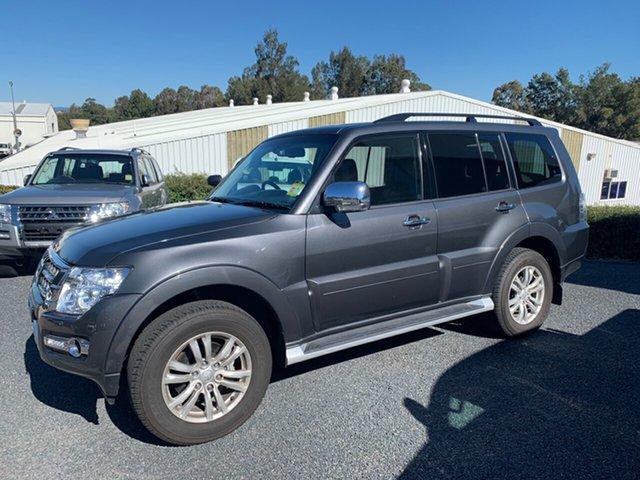 Demo Mitsubishi Pajero NX MY20 GLS, 2019 Mitsubishi Pajero NX MY20 GLS Graphite 5 Speed Sports Automatic Wagon