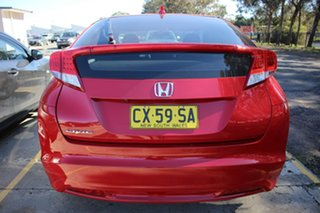 2013 Honda Civic 9th Gen MY13 VTi-S Red 5 Speed Sports Automatic Hatchback