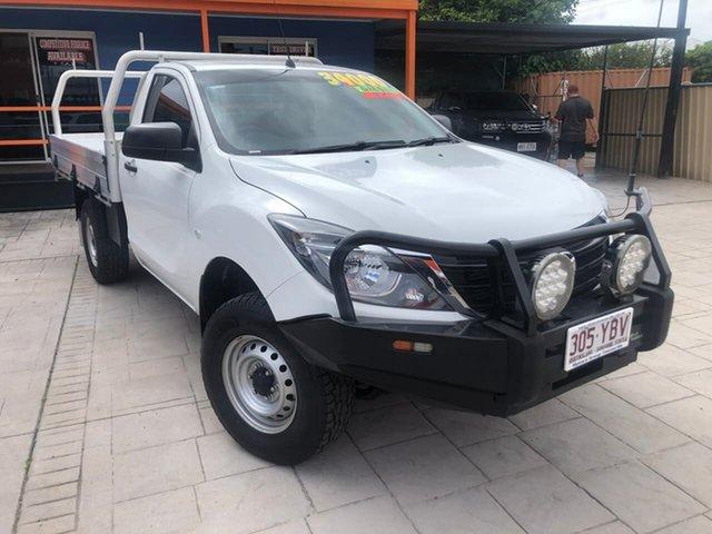Used Mazda BT-50 UR0YG1 XT, 2018 Mazda BT-50 UR0YG1 XT White 6 Speed Manual Cab Chassis