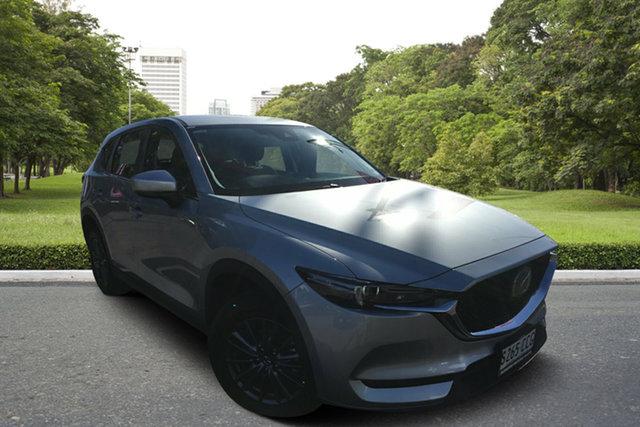 Used Mazda CX-5 KF4WLA Maxx SKYACTIV-Drive i-ACTIV AWD, 2019 Mazda CX-5 KF4WLA Maxx SKYACTIV-Drive i-ACTIV AWD Silver 6 Speed Sports Automatic Wagon