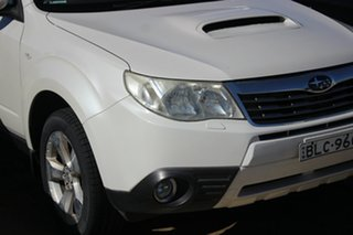 2009 Subaru Forester S3 MY09 XT AWD Premium White 4 Speed Sports Automatic Wagon.