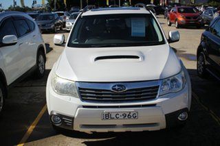 2009 Subaru Forester S3 MY09 XT AWD Premium White 4 Speed Sports Automatic Wagon