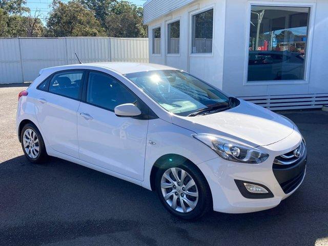 Used Hyundai i30 GD Active, 2013 Hyundai i30 GD Active White 6 Speed Sports Automatic Hatchback