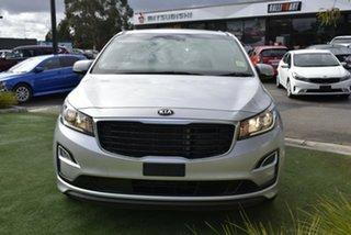 2018 Kia Carnival YP MY19 S Silver 8 Speed Sports Automatic Wagon.