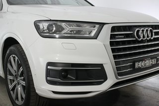 2019 Audi Q7 4M MY19 50 TDI Tiptronic Quattro Glacier White 8 Speed Sports Automatic Wagon.