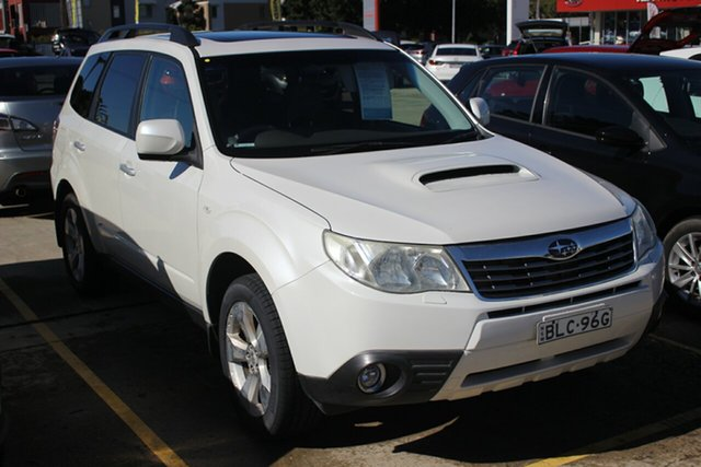 Used Subaru Forester S3 MY09 XT AWD Premium, 2009 Subaru Forester S3 MY09 XT AWD Premium White 4 Speed Sports Automatic Wagon