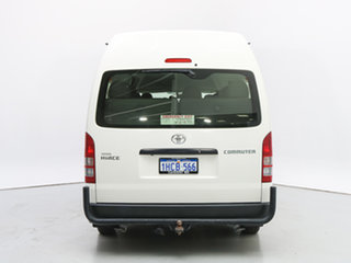 2014 Toyota HiAce KDH223R MY12 Upgrade Commuter White Bus