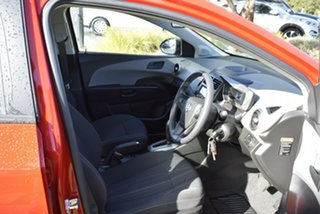 2015 Holden Barina TM MY15 X Red/Black 6 Speed Automatic Hatchback