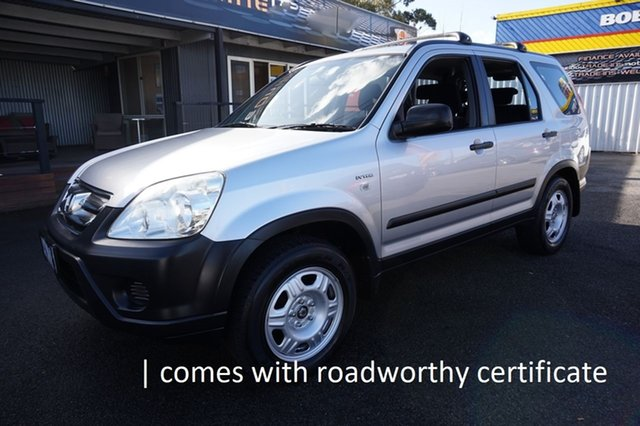 Used Honda CR-V RD MY2006 4WD, 2006 Honda CR-V RD MY2006 4WD Alabaster Silver 5 Speed Automatic Wagon