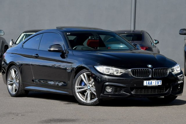 Used BMW 435i F32 , 2013 BMW 435i F32 Black 8 Speed Sports Automatic Coupe
