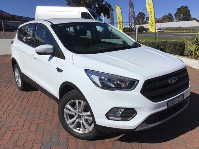Demo Ford Escape ZG 2019.75MY Ambiente 2WD, 2019 Ford Escape ZG 2019.75MY Ambiente 2WD Frozen White 6 Speed Sports Automatic Wagon
