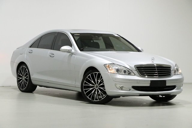 Used Mercedes-Benz S350 221 07 Upgrade , 2008 Mercedes-Benz S350 221 07 Upgrade Silver 7 Speed Automatic G-Tronic Sedan