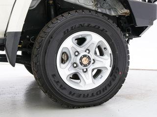 2014 Toyota Landcruiser VDJ76R MY12 Update GXL (4x4) White 5 Speed Manual Wagon