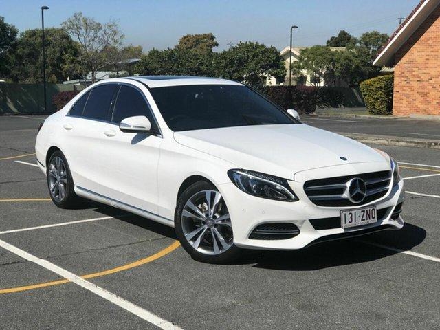 Used Mercedes-Benz C200 W205 7G-Tronic +, 2015 Mercedes-Benz C200 W205 7G-Tronic + White 7 Speed Sports Automatic Sedan