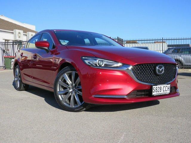 Used Mazda 6 GL1032 GT SKYACTIV-Drive, 2019 Mazda 6 GL1032 GT SKYACTIV-Drive Red 6 Speed Sports Automatic Sedan