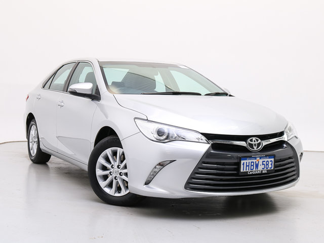Used Toyota Camry ASV50R MY15 Altise, 2015 Toyota Camry ASV50R MY15 Altise Silver 6 Speed Automatic Sedan
